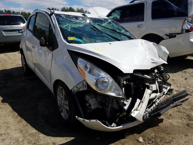 Salvage cars for sale from Copart Mendon, MA: 2014 Chevrolet Spark 1LT