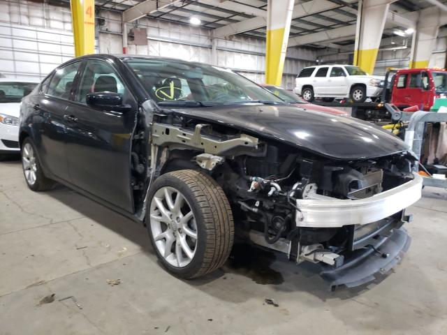 Salvage cars for sale from Copart Woodburn, OR: 2013 Dodge Dart SXT