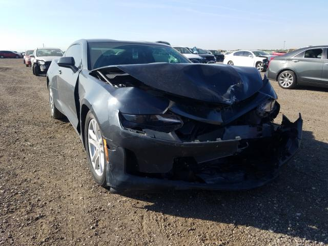 Salvage cars for sale from Copart Houston, TX: 2019 Chevrolet Camaro LT