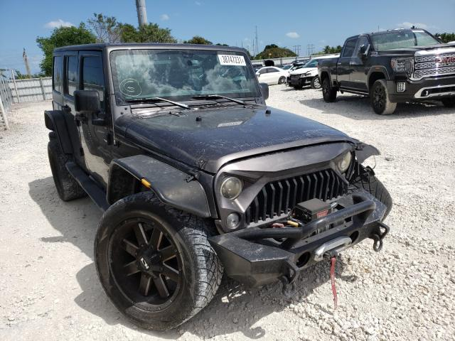 Salvage cars for sale from Copart Homestead, FL: 2017 Jeep Wrangler U