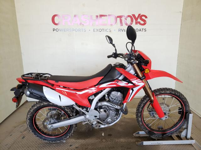 Salvage cars for sale from Copart China Grove, NC: 2019 Honda CRF250 L
