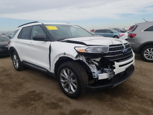 Ford salvage cars for sale: 2020 Ford Explorer X