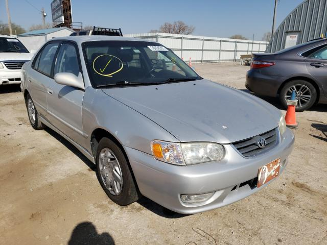 Salvage cars for sale from Copart Wichita, KS: 2001 Toyota Corolla CE
