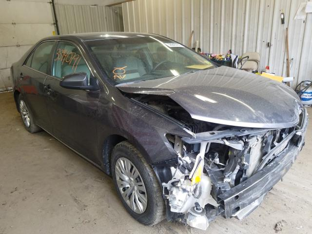 Salvage cars for sale from Copart Lyman, ME: 2014 Toyota Camry L