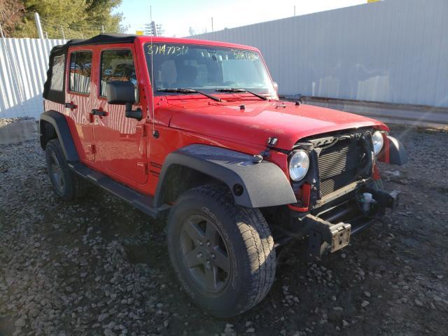 Vehiculos salvage en venta de Copart New Britain, CT: 2015 Jeep Wrangler U