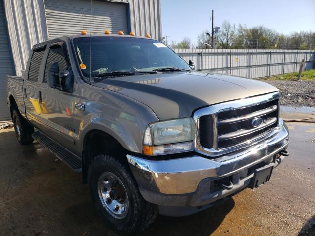 Ford F350 salvage cars for sale: 2002 Ford F350