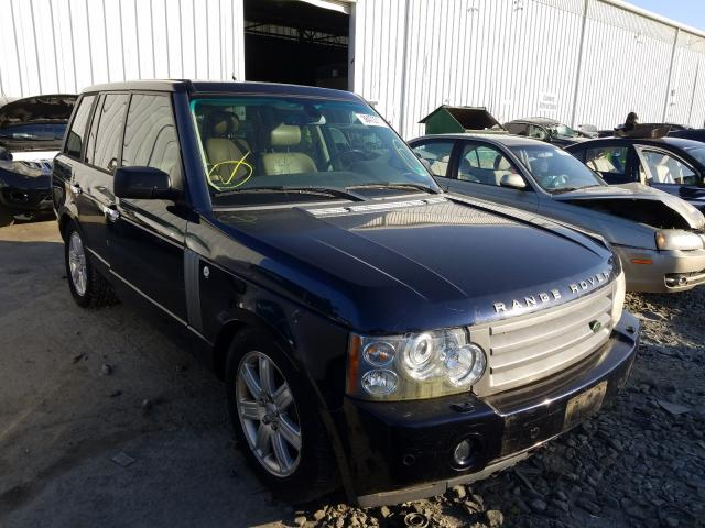 Salvage cars for sale from Copart Windsor, NJ: 2006 Land Rover Range Rover