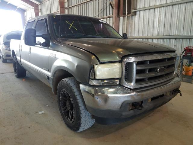 Salvage cars for sale from Copart Greenwell Springs, LA: 2002 Ford F250 Super