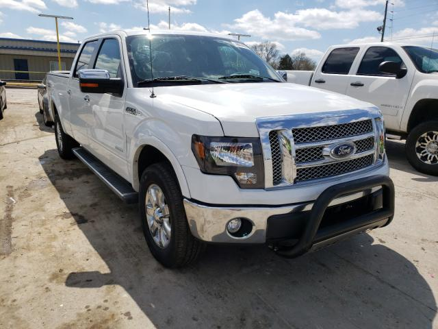 Salvage cars for sale from Copart Lebanon, TN: 2013 Ford F150 Super