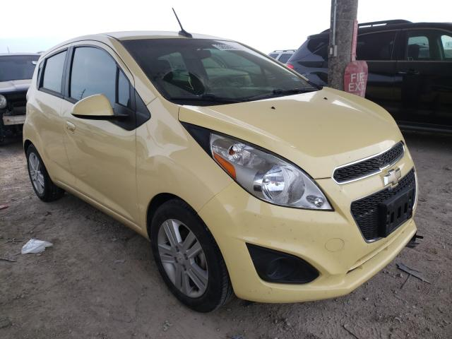 Salvage cars for sale from Copart Temple, TX: 2014 Chevrolet Spark 1LT
