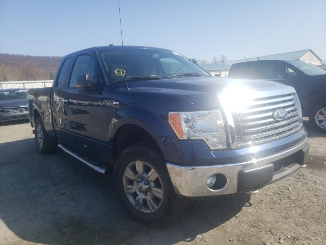 Salvage cars for sale from Copart Grantville, PA: 2011 Ford F150 Super