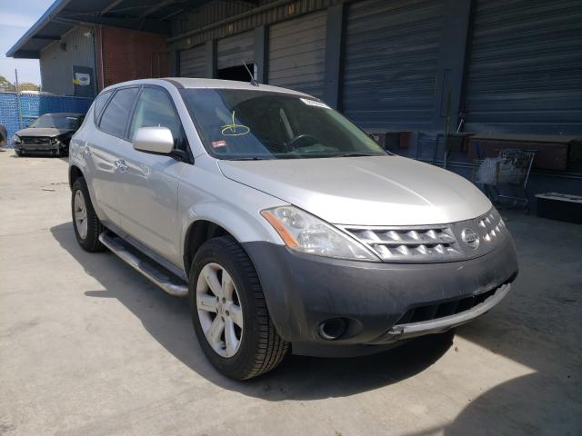 Nissan salvage cars for sale: 2006 Nissan Murano