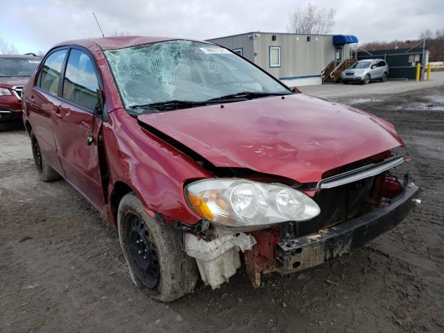 Salvage cars for sale from Copart Duryea, PA: 2004 Toyota Corolla