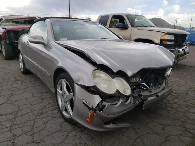 Salvage cars for sale from Copart Colton, CA: 2005 Mercedes-Benz CLK 320