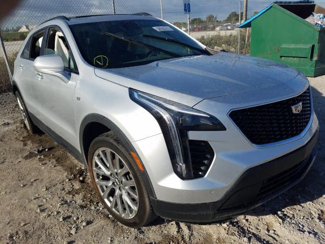 Cadillac salvage cars for sale: 2019 Cadillac XT4 Sport