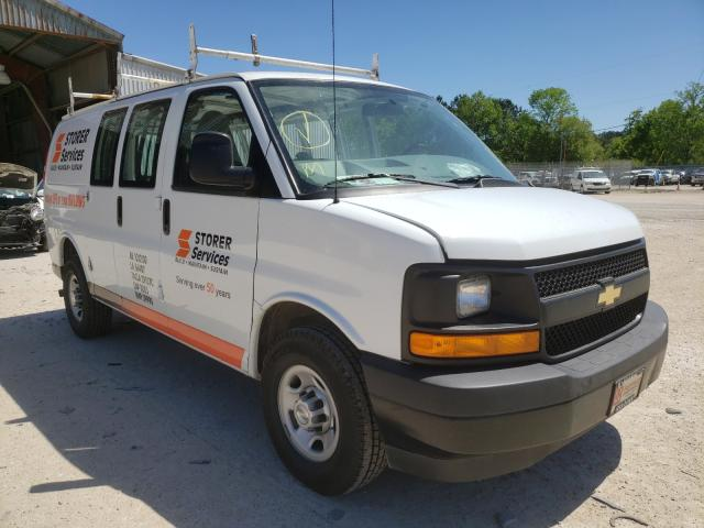 Salvage cars for sale from Copart Greenwell Springs, LA: 2017 Chevrolet Express G2