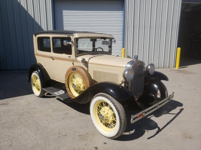 Ford Model A salvage cars for sale: 1931 Ford Model A