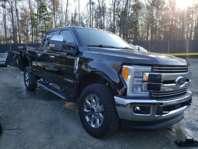 Salvage 2018 FORD F250 - Small image. Lot 36635311