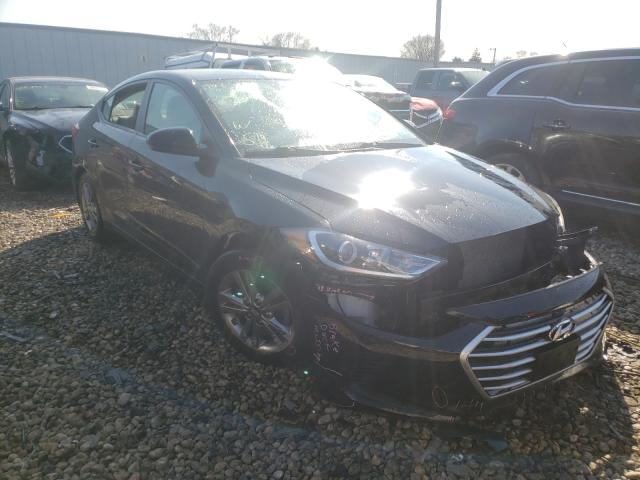 Salvage cars for sale from Copart Cudahy, WI: 2017 Hyundai Elantra SE