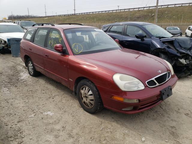 Daewoo salvage cars for sale: 2000 Daewoo Nubira CDX