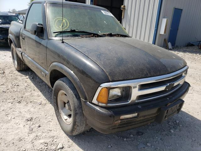 Chevrolet S10 salvage cars for sale: 1997 Chevrolet S10