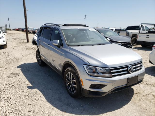 Salvage cars for sale from Copart Temple, TX: 2020 Volkswagen Tiguan SE
