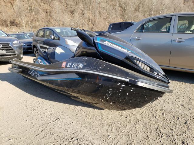 Salvage boats for sale at Marlboro, NY auction: 2019 Kawasaki Jetski