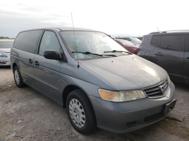 Salvage cars for sale from Copart Temple, TX: 2002 Honda Odyssey LX