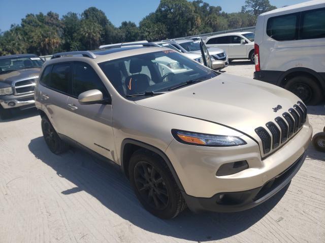 Vehiculos salvage en venta de Copart Fort Pierce, FL: 2015 Jeep Cherokee L