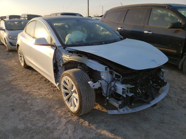 Salvage cars for sale from Copart Temple, TX: 2021 Tesla Model 3