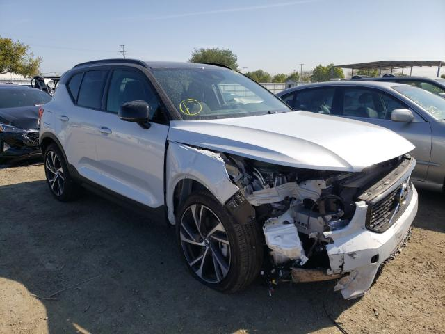 Volvo salvage cars for sale: 2021 Volvo XC40 T4 R