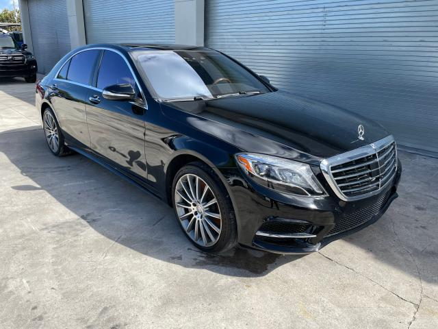 Salvage cars for sale from Copart Opa Locka, FL: 2017 Mercedes-Benz S 550