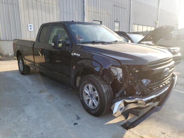 Salvage cars for sale from Copart Lawrenceburg, KY: 2019 Ford F150 Super