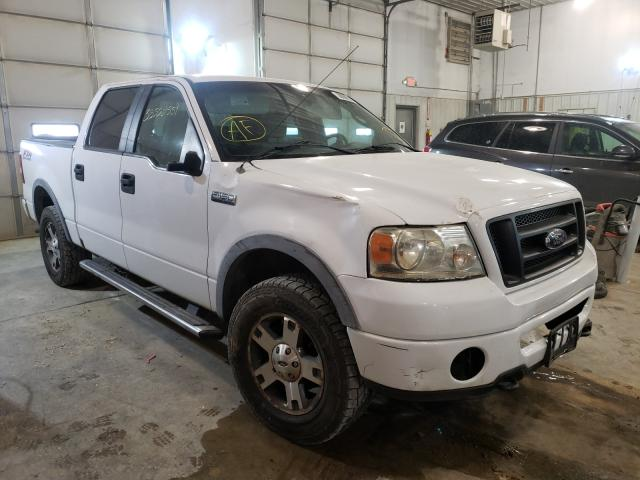Salvage cars for sale from Copart Columbia, MO: 2007 Ford F150 4WD