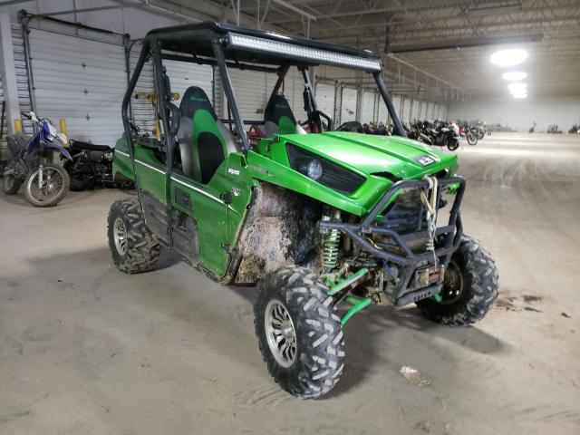Salvage cars for sale from Copart Columbus, OH: 2014 Kawasaki Teryx