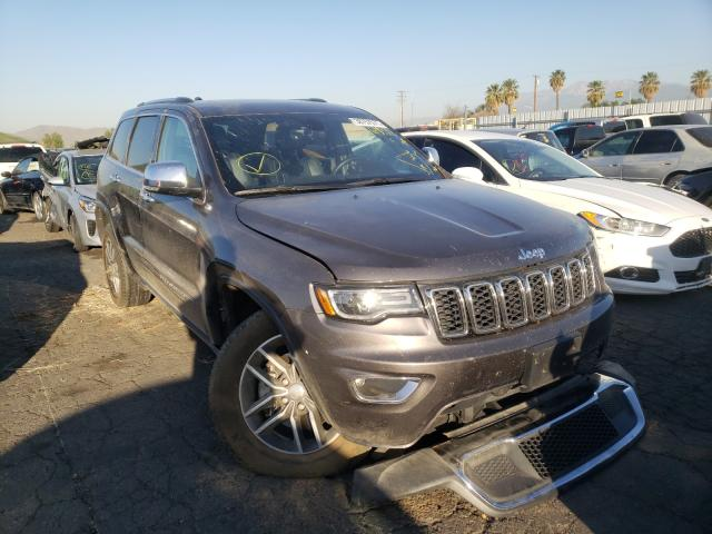 Salvage cars for sale from Copart Colton, CA: 2017 Jeep Grand Cherokee