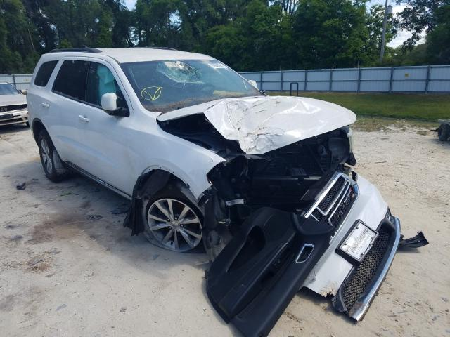 Salvage cars for sale from Copart Ocala, FL: 2015 Dodge Durango LI