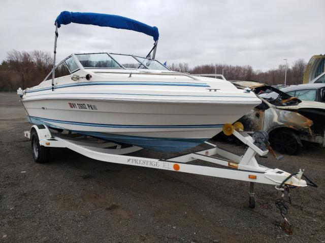 Salvage cars for sale from Copart East Granby, CT: 1985 Seaswirl Boat With Trailer