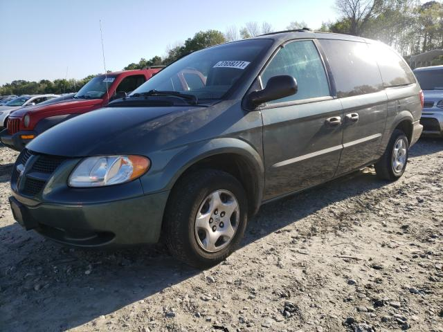 2003 DODGE GRAND CARA - Left Front View