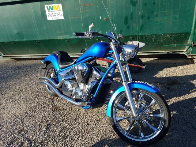 Salvage motorcycles for sale at Harleyville, SC auction: 2010 Honda VT1300 CX