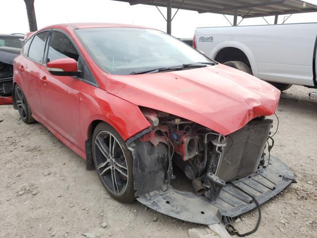 Salvage cars for sale from Copart Temple, TX: 2016 Ford Focus ST