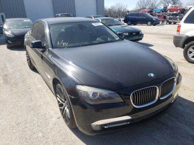 Salvage cars for sale from Copart Rogersville, MO: 2009 BMW 750 I