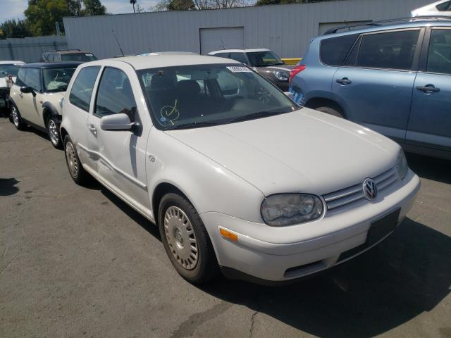 Salvage cars for sale from Copart Vallejo, CA: 2002 Volkswagen Golf GL