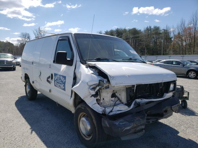 Salvage cars for sale from Copart Fredericksburg, VA: 2004 Ford Econoline