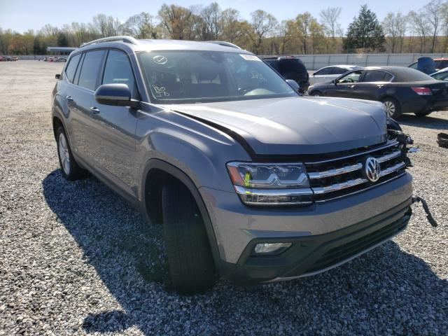 Salvage cars for sale from Copart Spartanburg, SC: 2019 Volkswagen Atlas SE