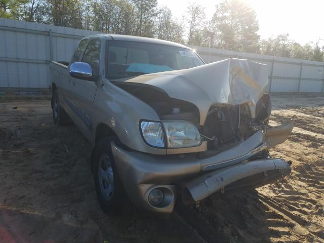 Salvage cars for sale from Copart Gaston, SC: 2004 Toyota Tundra ACC