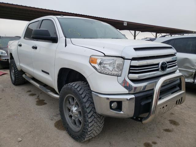 Salvage cars for sale from Copart Temple, TX: 2017 Toyota Tundra CRE