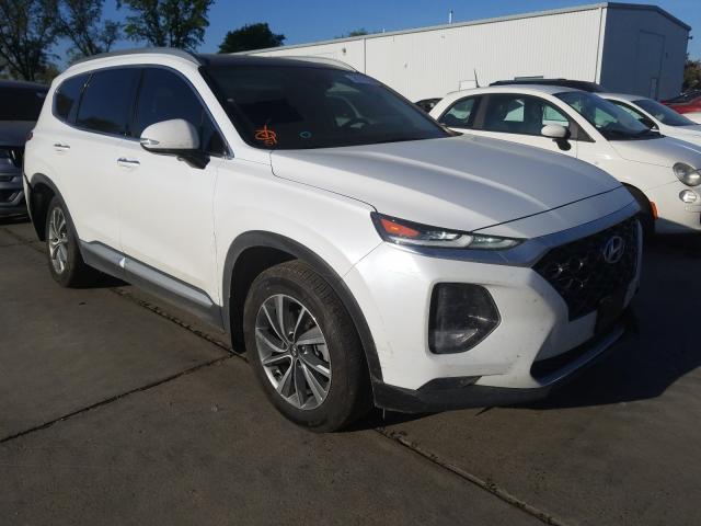 Hyundai salvage cars for sale: 2020 Hyundai Santa FE S