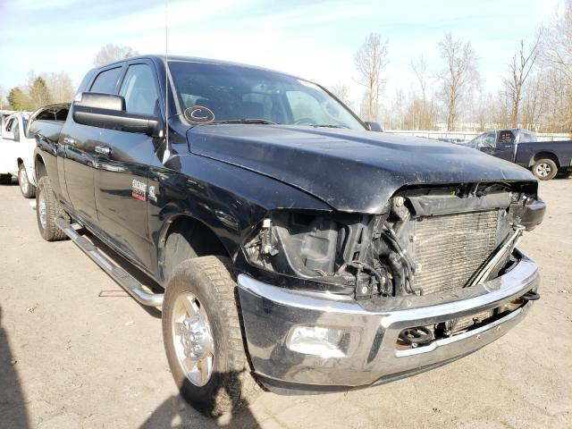 Salvage cars for sale from Copart Portland, OR: 2012 Dodge RAM 2500 S