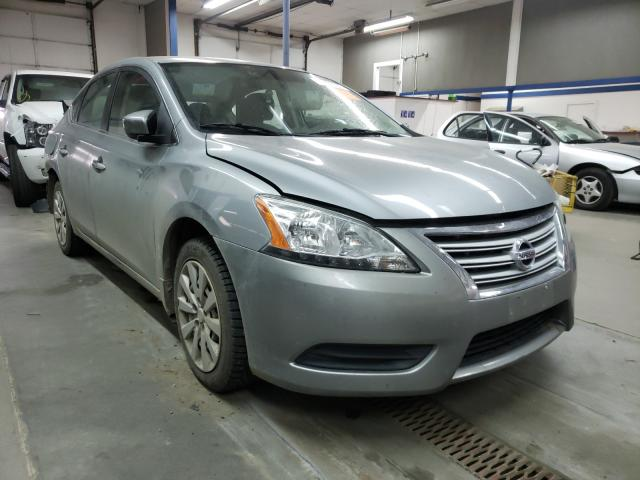 Salvage cars for sale from Copart Pasco, WA: 2014 Nissan Sentra S